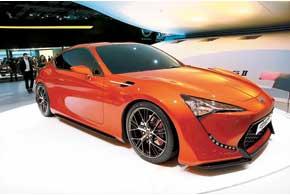 Toyota FT-86 II Concept все ближе ксерийному производству.
