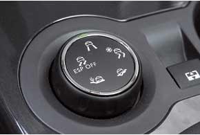 Меняя алгоритм работы ABS и ESP, система Grip Control помогает переднеприводному автомобилю увереннее вести себя на грунтовых и скользких дорогах.