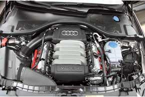 Моноприводную А6 можно приобрести только с базовым атмосферным V6 FSI.