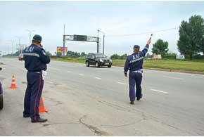 Изменениями в Законе Украины «О милиции» задекларировано 12 поводов для остановки транспортного средства работниками Госавтоинспекции.