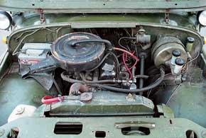 Часто на уазовские моторы адптировали всевозможные «сухие» фильтры.