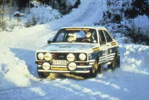 1980-е. Новое поколение шин Hakkapeliitta демонстрирует свои лучшие характеристики в очередном ралли.