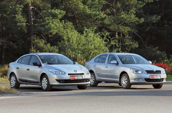 Skoda Octavia, Renault Fluence