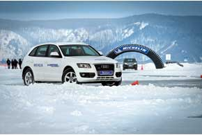 Тест новой шины Michelin Latitude X-ICE North 2