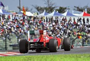 Фернандо Алонсо продолжает выжимать из машины максимум, однако все, что осталось ему в этом году - сражение за вице-чемпионский титул.