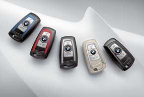 Исполнение каждого ключа соответствует одному извариантов: базовому, Sport Line, Luxury Line иModern Line или М-Sport.