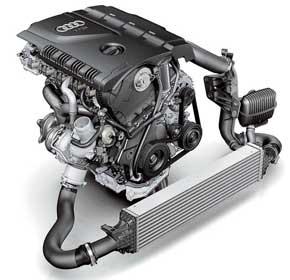 В гамме моторов Audi не осталось атмосферных двигателей. Все оснащены турбонаддувом, а3.0 TFSI (у A5 и S5) – компрессором.