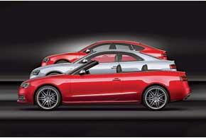 Плановое обновление затронуло сразу всю гамму кузовов Audi A5.