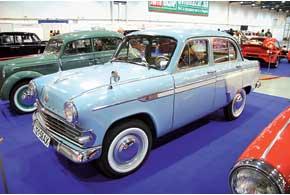 Экспортный «Москвич-403 ИЭ» иполноприводный «Москвич-410»– небольшая часть коллекции, впервые представленной на выставке луганскими реставраторами из клуба «Сделано в СССР».