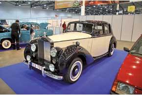 Rolls-Royce Silver Dawn выпускался с 1949 по 1955 год. Всего было изготовлено 760 экземпляров.