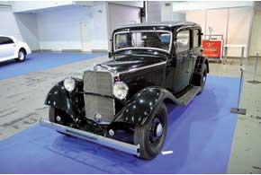 Mercedes-Benz 170 (W15) продержался на конвейере с 1931 по1936год.