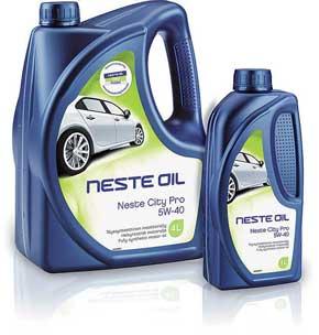 Моторные масла марки Neste Oil