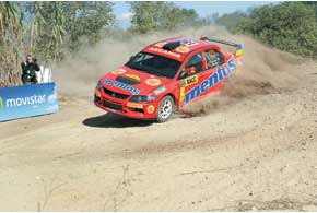 Хотя Валерий Горбань в турнирной таблице переместился с третьего на шестое место, в Британии онснова может вернуться в первую пятерку P-WRC.