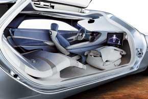 Концепт-кар Mercedes-Benz  F 125!
