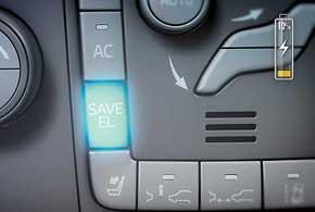 Дополнительная функция Save El (сохранение электроэнергии) помогает планировать поездки с оглядкой на экономию.