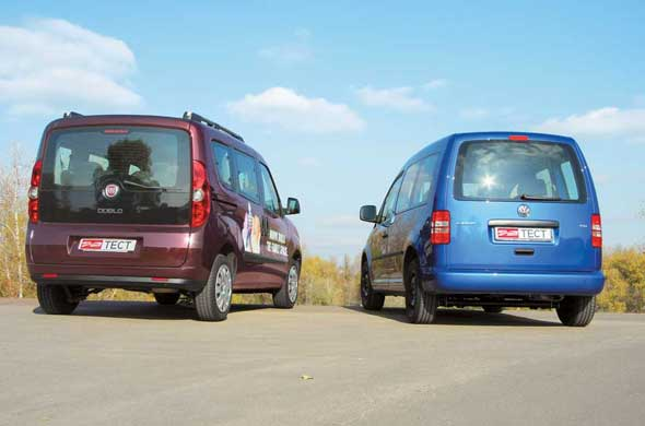 VW Caddy, Fiat Doblo