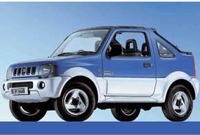 Официально вУкраине продают Jimny в кузове 3-дверный универсал. Модификации ландо (на фото) завозятся «серым» путем и встречаются у нас крайне редко.