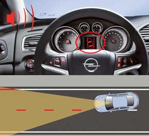 Для Insignia 2012 модельного года предлагается система Opel Eye второго поколения.
