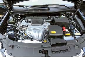Новый 2,5-литровый двигатель стал немного мощнее, тяговитее, а главное– заметно экономичнее.
