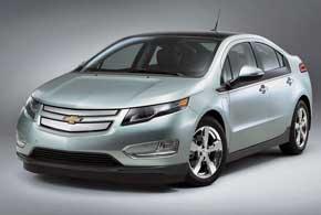 Chevrolet Volt. Гибридный бензоэлектрический Volt стал первым серийным автомобилем марки, способным перемещаться исключительно на электротяге. Новинка завоевала титул «Автомобиля года-2011 вСеверной Америке».