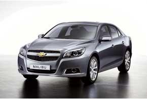 Chevrolet Malibu. Знаменитая в США модель Malibu с 2012 года будет представлена во всем мире, в том числе и в Европе, где она займет место флагмана марки.