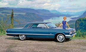 Chevrolet Impala. Третье поколение модели Impala вдохновило группу Beach Boys на написание песни. Автомобиль получил 6,7-литровый мотор V8, развивавший 425 л. с.