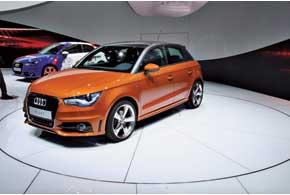 Audi A1 Sportback впервые получил пять дверей. Покупатель сможет выбирать один изтрех бензиновых моторов или трех дизелей и задний диван на двух или трех пассажиров.