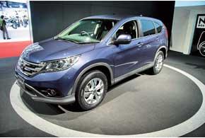 Новое поколение кроссовера Honda CR-V оснащено более экономичным мотором.