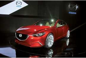 Дизайн новой Mazda6 обозначен концептом Takeri.