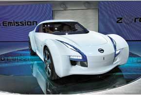 Концептуальный электрический спорткар Esflow разгоняется до«сотни» за 5 с, запас хода – 240 км.
