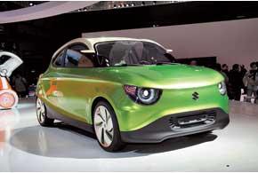 По версии Suzuki, так будет выглядеть глобальный компакт-кар компании через несколько лет.