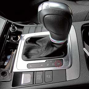 Замер динамики разгона производили в двух режимах работы трансмиссии – D (drive) и S (sport).