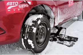 Установив летнюю шину зимой, ехать следует не быстро и осторожно.