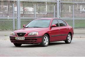 Hyundai Elantra c 2000 г.