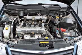 Для Almera Classic предназначен всего один силовой агрегат – бензиновый объемом 1,6 л.