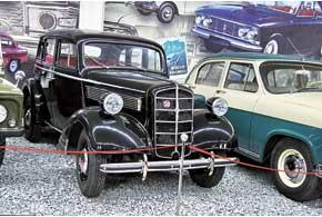 Opel Super 6, модель 1937 г., был буквально