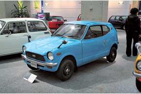Микрокар серии Z Honda делала из городских суперкомпактов.