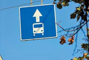 Полосы для движения общественного транспорта – обязательное европейское требование по организации движения.