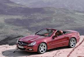 Дебют предыдущей модели SL (заводской индекс R230) состоялся на автошоу вЖеневе вмарте 2008 года.