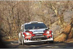 Свой путь к пятому месту на ралли «Монте-Карло» Евгений Новиков начал с победы нашейк-дауне.