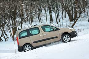 Тест-драйв Peugeot Partner Tepee Outdoor