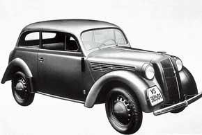 Opel Kadett первым измоделей компании получил фары, интегрированные в кузовные панели.