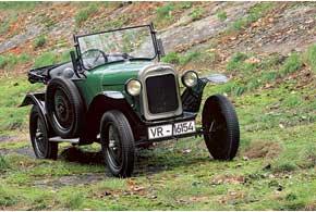 Opel стал первым вГермании автопроизводителем, освоившим конвейерную сборку. Дебютировала модель 4/12НР, прозванная за ярко-зеленый цвет Laubfrosch (с нем. – «древесная лягушка»).