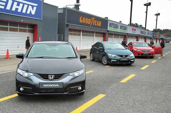 Тест-драйв Honda