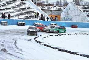 Зимние трековые гоноки