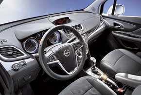 Помимо вместительного багажника, в Opel Mokka предусмотрено 19отделений для различных мелочей в салоне.