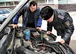 Эксперты-криминалисты МВД теперь будут проверять только подержанные автомобили. Покупатели новых  не будут платить за эту процедуру.