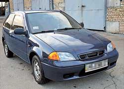 Suzuki Swift второй генерации