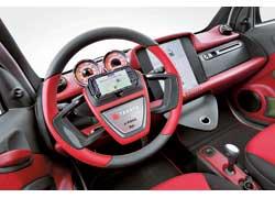 В ступицу рулевого колеса от Takata встроен модуль для интеграции iPhone.