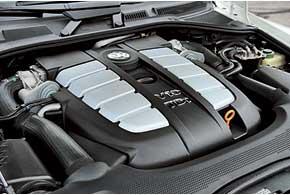мотор V8 4,2 л